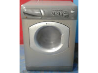 H542 graphite hotpoint 5+5kg 1200 spin washer dryer comes with warranty can be delivered or collect