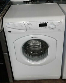 C172 white hotpoint 7kg 1600spin washing machine comes with warranty can be delivered or collected