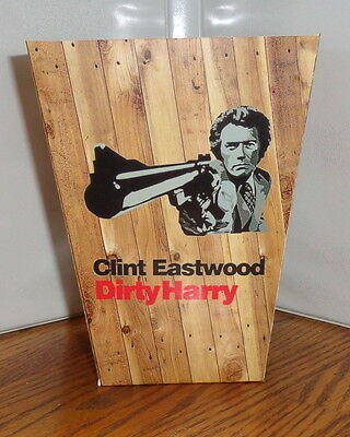 Clint Eastwood Popcorn Box 1. Dirty Harry.....free Shipping