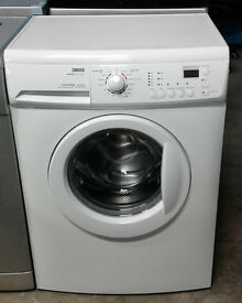 AA067 white zanussi 6kg 1200spin washing machine comes with warranty can be delivered or collected