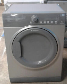 l199 graphite hotpoint 7kg vented dryer comes with warranty can be delivered or collected