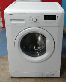 A203 white beko 7kg 1200spin A+ rated washing machine comes with warranty can be delivered