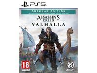 Assassins Creed Valhalla PS5 - Drakkar Edition - Sealed/Brand New