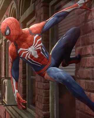 High Quality Insomniac Spider-Man PS4 Video Game Cosplay (Spiderman Kostüme Videos)