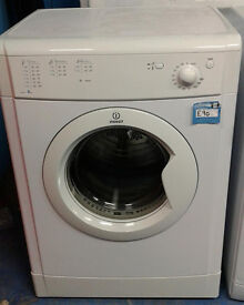 E271 white indesit 6kg vented dryer comes with warranty can be delivered or collected
