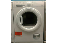 a402 white hotpoint 9kg B rated condenser dryer comes with warranty can be delivered or collected