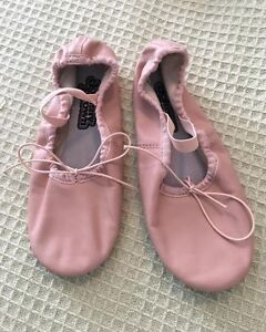Pink Ballet shoes size 2