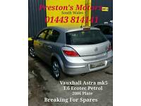 Vauxhall Astra Tailgate
