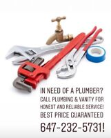 Plumbing ! Same Day Plumber Service ☎️CALL 647-232-5731
