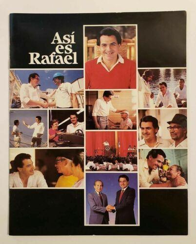VTG PROMO BOOK / RAFAEL HERNANDEZ COLON / ASI ES RAFAEL / PUERTO RICO 1984