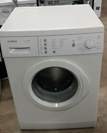 a145 white bosch 7kg 1200spin washing machine comes with warranty can be delivered or collected