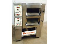 Tom Chandley 2 Deck 2 Tray Deck Oven with Glass Doors