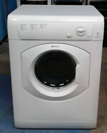 m243 white hotpoint 7kg vented dryer comes with warranty can be delivered or collected