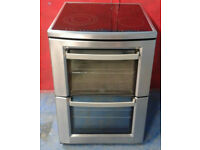 c365 stainless steel aeg 60cm double oven touch screen hob electric cooker comes with warranty