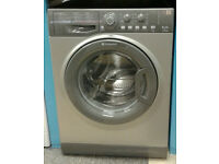 a696 graphite hotpoint 6kg 1600spin A+ rated washing machine come with warranty can be delivered
