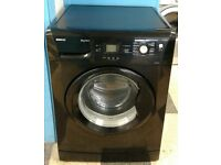 G324 black beko 8kg 1200 spin washing machine with warranty can be delivered or collected