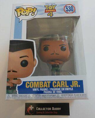 Funko Pop! Disney 530 Toy Story 4 Combat Carl Jr Pixar Pop Vinyl Figure FU37398
