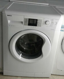 K686 white beko 8kg 1400 spin washing machine comes with warranty can be delivered or collected