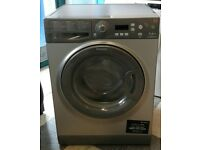 579 graphite hotpoint 7kg washing machine comes with warranty can be delivered or collected