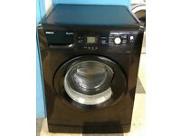 f324 black beko 8kg washing machine comes with warranty can be delivered or collected
