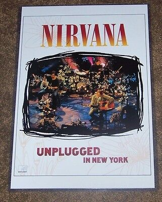 Nirvana MTV Unplugged 11X17 TV Concert Poster