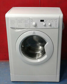 E461 white indesit 6kg 1200spin A+ rated washing machine comes with warranty can be delivered