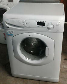 F719 white hotpoint 7kg 1400spin washing machine comes with warranty can be delivered or collected
