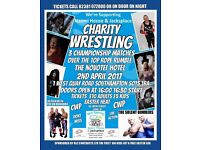Cwp charity wrestling promotion Easter heat