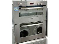 a214 stainless steel bosch integrated double built under electric oven comes with warranty