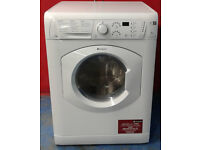 F543 white hotpoint 7kg 1400 spin washer dryer comes with warranty can be delivered or collected