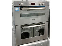 o214 stainless steel bosch integrated double built under electric oven comes with warranty