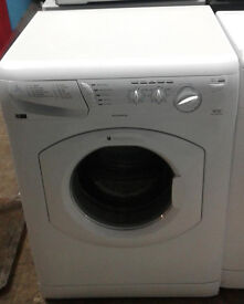 C279 white hotpoint 7kg 1400spin washing machine comes with warranty can be delivered or collected