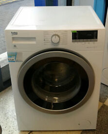x173 white beko 8kg 1400spin A+++ rated washing machine comes with warranty can be delivered