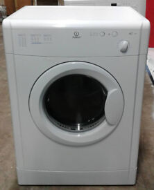 l172 white indesit 6kg vented dryer comes with warranty can be delivered or collected
