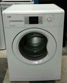 b220 white beko 8kg 1400 spin washing machine comes with warranty can be delivered or collected