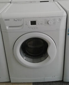 c679 white beko 7kg 1600spin A+AA washing machine comes with warranty can be delivered or collected