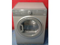 l606 graphite hotpoint 7kg B rated vented dryer comes with warranty can be delivered or collected