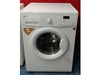x349 white lg 7kg 1200spin washing machine comes with warranty can be delivered or collected