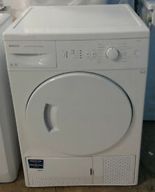 I495 white beko 8kg B rated condenser dryer comes with warranty can be delivered or collected