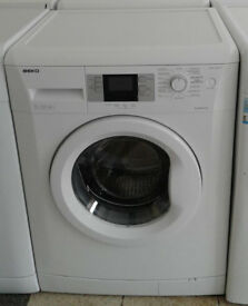K677 white beko 7kg 1600 spin washing machine comes with warranty can be delivered or collected