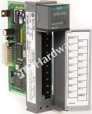 Allen Bradley 1746-ni8 A 1746-n18 Slc 500 Input Analog Module 8-ch Frn 1 No Tb