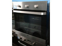 z211 stainless steel beko single electric oven comes with warranty can be delivered or collected