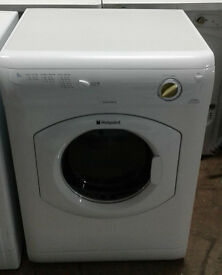 e613 white hotpoint 6kg vented dryer comes with warranty can be delivered or collected