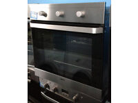 E211 stainless steel beko single electric oven comes with warranty can be delivered or collected