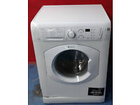 M607 white hotpoint 7kg 1400spin washer dryer comes with warranty can be delivered or collected