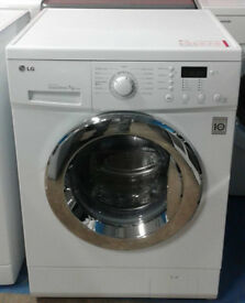 p470 white lg 7kg washing machine comes with warranty can be delivered or collected