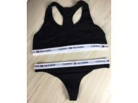 Tommy Hilfiger Bralette & Thong Set for Wholesale