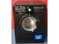 f386 black indesit 7kg &5kg 1400spin washer dryer comes with warranty can be delivered or collected