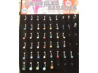 Various belly bars - priced individually.