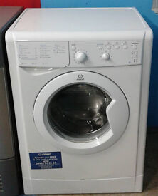b604 white indesit 5kg 1200spin A+ washing machine comes with warranty can be delivered or collected
